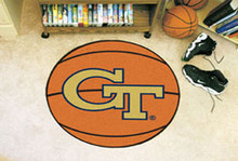 """Georgia Tech Basketball Mat 26"""""""