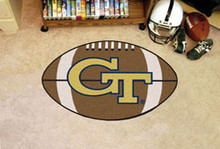 "Georgia Tech Football Rug 22""x35"""