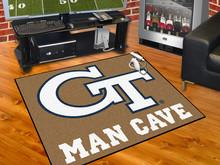 Georgia Tech Man Cave All-Star Mat