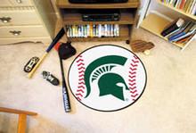 Michigan State Baseball Mat