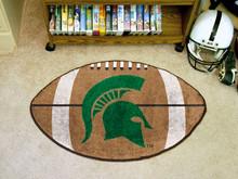 "Michigan State Football Rug 22""x35"""