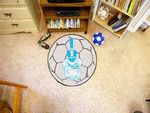 The Citadel Soccer Ball Rug