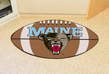 Maine Football Rug
