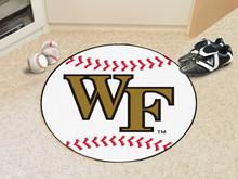 Wake Forest Baseball Rug
