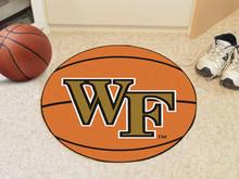 Wake Forest Basketball Rug
