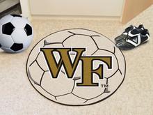 Wake Forest Soccer Ball Rug