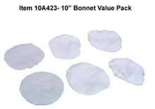"10"" Terrycloth Bonnet Value Pack 10A423"