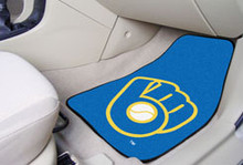 Milwaukee Brewers Carpet Floor Mats