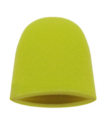 Finger Mitt in Aggressive Yellow