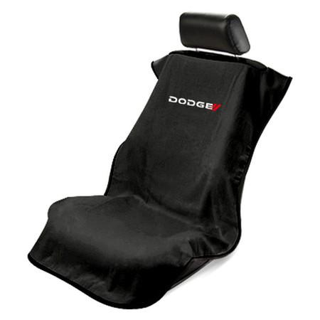 Dodge Black Car Seat Armour