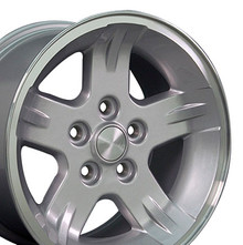 "15"" Fits Jeep - Wrangler Wheel - Silver 15x8"