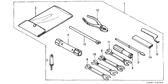 Genuine Honda ATC250ES 1987 10X12 Spanner Part 9: 9900110120 (824733)