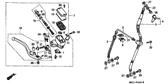 Genuine Honda 1000 Hurricane 1987 Adjusting Bolt Part 21: 53180KV0006 (853214)