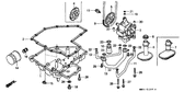 Genuine Honda 1000 Hurricane 1987 9.8X2.7 (Nok) O-Ring Part 22: 91309MJ0005 (853194)
