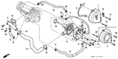 Sale Genuine Honda Fireblade 1997 Water Pump Complete Part 5: 19200MW0010 (879015)