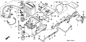 Genuine Honda 1000 Hurricane 1987 Battery Band Part 32: 50330MM5000 (886113)