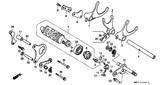Genuine Honda 1000 Hurricane 1987 Ball Bearing 16005 (Ntn) Part 29: 91008374003 (885987)