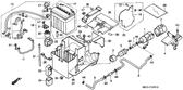 Genuine Honda 1000 Hurricane 1987 Battery Box Grommet Part 34: 50332MM5000 (886115)
