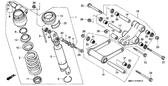 Genuine Honda 1000 Hurricane 1987 Axle Nut 10Mm Part 28: 90304GA6003 (890205)