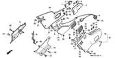 Genuine Honda 1000 Hurricane 1987 Air Cleaner Case Grommet Part 23: 83551300000 (894216)