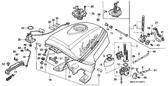 Genuine Honda 1000 Hurricane 1987 39.5X5 O-Ring Part 42: 91305MC7000 (894161)