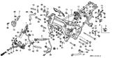 Genuine Honda 1000 Hurricane 1987 Accumulator Nut Part 24: 57071SB0800 (902499)