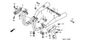 Sale Genuine Honda CBX750 Police 2001 Right Exhaust Muffler Complete Part 2: 18300MJ1841 (928574)