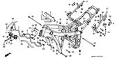 Genuine Honda 600 Hurricane 1987 10X2.6 (Arai) O-Ring Part 29: 91314ME5003 (959467)