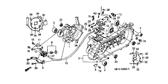 Genuine Honda Scoopy 2000 Oil Pump Insulator Rubber Part 12: 15532GAV700 (992901)