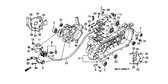 Genuine Honda Scoopy 2000 Oil Pump Insulator Part 11: 15531GAV700 (992900)
