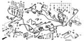 Genuine Honda Varadero ABS 2004 Pgm-Fi Unit Part 21: 38770MBTD51 (1208025)