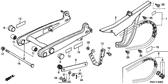 Genuine Honda Trail 110 1980 Muffler Caution Mark Part 13: 87504028670 (1524046)