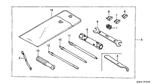 Genuine Honda Helix 1987 10X12 Spanner Part 9: 9900110120 (1764858)