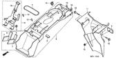 Genuine Honda Varadero 2001 Flange Nut 5Mm Part 15: 9405005080 (1780564)