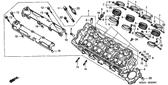 Genuine Honda Hornet 2001 10X16 Dowel Pin Part 20: 9430110160 (1810008)