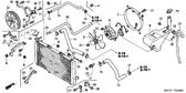 Genuine Honda Super Blackbird 1997 Radiator Cap Complete Part 5: 19045GBF700 (1888756)