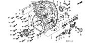 Genuine Honda Gold Wing 1993 10X16 Dowel Pin Part 32: 9430110160 (1987673)