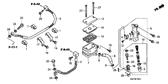 Genuine Honda XRE300A 2012 14.8X2.4 O-Ring Part 26: 91212422006 (2021987)