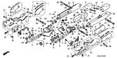 Genuine Honda Gold Wing 2001 Oxygen (#2-4-6) Sensor Part 35: 36532MCA023 (GL18000105)