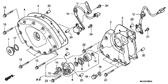 Genuine Honda Goldwing GL1800 2002 - 2005 Clutch Slave Cylinder Assembly Part 6: 22860MCA000 (GL18000205)