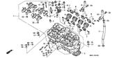 Genuine Honda CBR1000F 1987 10Mm Washer Part 17: 90410HA0000 (186400)