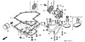 Genuine Honda CBR1000F 1988 10X10 Dowel Pin Part 19: 90702MJ4000 (216770)