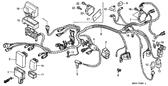 Sale Genuine Honda MAN ES 1998 Change Control Unit Part 16: 38910HN0A11 (225596)
