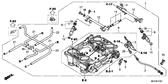 Genuine Honda Crossrunner 2012 Wire Stay Part 6: 16169MCW013 (296416)