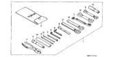 Genuine Honda CBR1000F 1990 150 Pliers Part 11: 9900215000 (348273)
