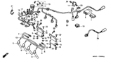 Sale Genuine Honda CBR900RR 1998 Wire Harness Part 13: 32100MASA00 (677269)