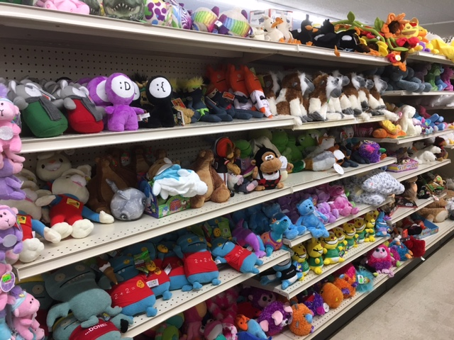 Like Many Things At Merchandise Outlet, Our Supply Chain Of Plush Has  Changed. We Used To Get Loads Of Plush In Liquidation. That Means That We  Would Just ...