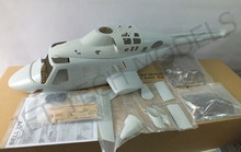 FUNKEY BELL 222 Scale Fuselage .50 (600) size Kit ( Unpainted Version )
