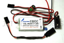 5A External UBEC 42V High Voltage w/ StepDown regulator