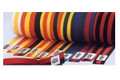 Striped Color Belts